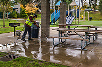 Maintenance & Cleanup, Van Asselt Community Center