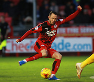 Crawley Town striker Rhys Murphy during the Sky Bet League 2 match between Crawley Town and Bristol Rovers at the Checkatrade.com Stadium, Crawley, England on 21 November 2015. Photo by Bennett Dean.