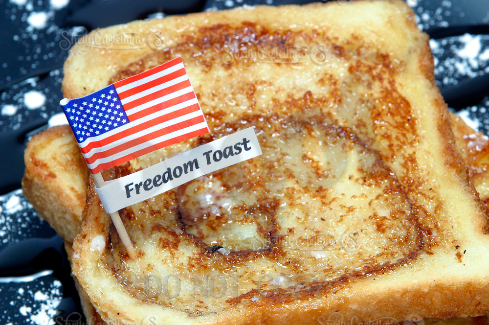 Mar 14, 2003; Los Angeles, CA, USA; Earlier this month the United States Congress has renamed a few of their food products served in the area cafeterias. As a Republican protest at France's oposition to war on Iraq food known as French Toast will now be called Freedom Toast.  The main question now is will this change be made across the nation.  Stock photograph with no name label. <br />Mandatory Credit: Photo by Shelly Castellano/ZUMA Press.<br />(©) Copyright 2003 by Shelly Castellano