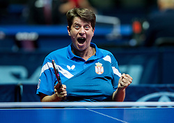 Peric-Rankovic Borislava of Serbia celebrates after winning at  final match during Day 4 of SPINT 2018 - World Para Table Tennis Championships, on October 20, 2018, in Arena Zlatorog, Celje, Slovenia. Photo by Vid Ponikvar / Sportida