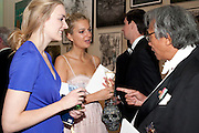 MARIA ALLEN; ANNA RAKIC; SIR DAVID TANG, Royal Academy of Arts Annual dinner. Royal Academy. Piccadilly. London. 1 June <br /> <br />  , -DO NOT ARCHIVE-© Copyright Photograph by Dafydd Jones. 248 Clapham Rd. London SW9 0PZ. Tel 0207 820 0771. www.dafjones.com.