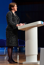 © Licensed to London News Pictures. 10/10/2012. Birmingham, UK Maia Miller, Secretary of State for Culture, Media and Sport delivers her  speech at The Conservative Party Conference at the ICC today 10th October 2012. Photo credit : Stephen Simpson/LNP