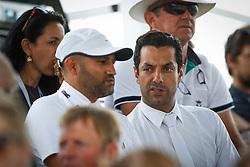 Bahamdan Kamal, Al Duhami Ramzy Hamad (KSA)<br /> Team consolation competition<br /> Furusiyya FEI Nations Cup Jumping Final<br /> CSIO Barcelona 2013<br /> © Dirk Caremans