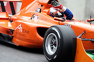 DURBAN - 29 January 2006 -Team Netherlands'Jos Verstappen waves as he completes his lap of honour after winning the inaugural A1 Grand Prix in Durban..Picture:Giordano Stolley