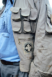 Rick Lohr With Earthwatch Patch