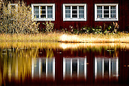 Different locations in Sweden. Mostly Värmland. Red house with white windows..Photo: ©Claus Sjödin 2009 - cspress.dk.