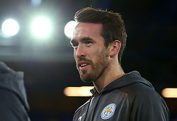 Christian Fuchs of Leicester City arrives at Goodison Park for the Premier League Match against Everton - Mandatory by-line: Robbie Stephenson/JMP - 31/01/2018 - FOOTBALL - Goodison Park - Liverpool, England - Everton v Leicester City - Premier League