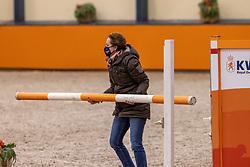 Dekker Charlotte, NED<br /> Fotodag KWPN Hengstenkeuring 2021<br /> © Hippo Foto - Dirk Caremans<br /> 21/12/2020
