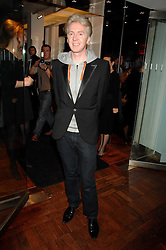 PHILIP TREACY at a dinner in honour of Francisco Costa of Calvin Klein hosted by Vogue at the Fifth Floor restaurant, Harvey Nichols, London on 28th March 2007.<br /><br />NON EXCLUSIVE - WORLD RIGHTS