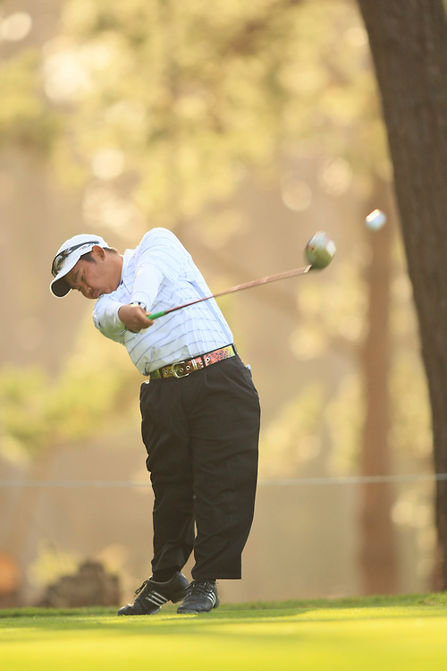 Tadd Fujikawa during the first round of the 2007 AT&T Pebble Beach National Pro Am in Pebble Beach, California at Spyglass Hill GC on Thursday, February 7, 2008. Photograph by Darren Carroll..