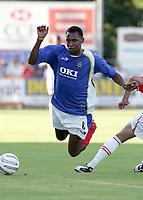 Fotball<br /> Foto: Dppi/Digitalsport<br /> NORWAY ONLY<br /> <br /> FRIENDLY GAMES 2005/2006 - AS MONACO v PORTSMOUTH FC - 23/07/2005<br /> <br /> JOHN VIAFARA (POR)