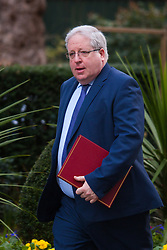 London, March 3rd 2015. Members of the cabinet arrive at 10 Downing Street for their weekly meeting. PICTURED: Transport Secretary Patrick McLoughlin