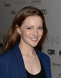 Morfydd Clark arrives at the London Critics' Circle Film Awards at the May Fair Hotel in London.