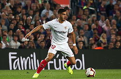 October 20, 2018 - Barcelona, Catalonia, Spain - Andre Silva during the match between FC Barcelona and Sevilla CF, corresponding to the week 9 of the Liga Santander, played at the Camp Nou, on 20th October 2018, in Barcelona, Spain. (Credit Image: © Joan Valls/NurPhoto via ZUMA Press)
