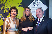NO FEE PICTURES<br /> 23/1/16 Minister for Tourism Michael Ring and Maureen Ledwith, organiser of the Holiday World Show at the Great National Hotels stand at the Holiday World Show at the RDS in Dublin. Picture: Arthur Carron