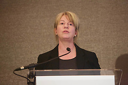 Scottish Secretary for Health and Sport Shona Robison addresses the Investing Women Ambition & Growth conference at the Sheraton, Edinburgh 080318 photo by Terry Murden @edinburghelitemedia