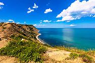 Beautiful coastline of Black Sea
