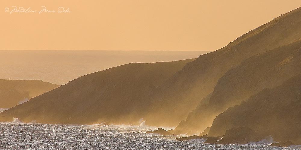 Cliffs Puffin Island - St. Finians Bay, County Kerry, Ireland