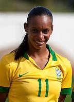 Fifa Womans World Cup Canada 2015 - Preview //<br /> Algarve Cup 2015 Tournament ( Municipal Stadium - Albufeira , Portugal ) - <br /> Brazil vs China 0-0 - Rosana dos Santos Augusto of Brazil