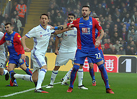 Football - 2016 / 2017 Premier League - Crystal Palace vs. Chelsea<br /> <br /> Damien Delaney of Palace and Nemanja Matic of Chelsea at Selhurst Park.<br /> <br /> COLORSPORT/ANDREW COWIE