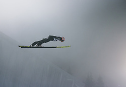 06.03.2020, Holmenkollen, Oslo, NOR, FIS Weltcup Skisprung, Raw Air, Oslo, Herren, Qualifikation, im Bild Karl Geiger (GER) // Karl Geiger of Germany during the qualification for the Raw Air Series of FIS Ski Jumping World Cup at the Holmenkollen in Oslo, Norway on 2020/03/06. EXPA Pictures © 2020, PhotoCredit: EXPA/ JFK