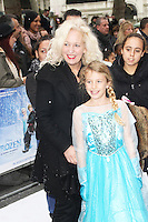 Debbie Bright, Frozen - VIP Screening, Odeon Leicester Square, London UK, 17 November 2013, Photo by Brett D. Cove