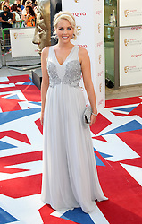 Lydia Bright  arriving at the British Academy Television Awards in London, Sunday , 27th May 2012.  Photo by: Stephen Lock / i-Images