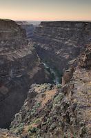 Bruneau River Canyon Overlook Idaho