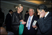 GEORGINA HUDDART; LORD MAGAN OF CASTLETOWN; MANOLI OLYMPITIS, Fortnum and Mason and Quartet books host a celebration for the publication of  The White Umbrella by Brian Sewell. Illustrated by Sally Ann Lasson. Fortnum and Mason. Piccadilly. London. 3 March 2015.