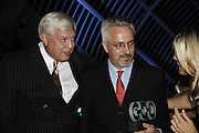 John Simpson and Alan Hollinghurst, The 7th GQ Man of the Year Awards, Royal Opera House. 7 September 2004. In association with Armani Mania. SUPPLIED FOR ONE-TIME USE ONLY-DO NOT ARCHIVE. © Copyright Photograph by Dafydd Jones 66 Stockwell Park Rd. London SW9 0DA Tel 020 7733 0108 www.dafjones.com