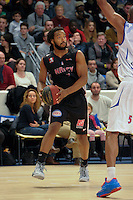 Randal Falker - 27.12.2014 - Paris Levallois / Nancy - 15eme journee de Pro A<br />