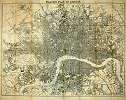 Black's Index Plan of London From the book ' London and its environs : a practical guide to the metropolis and its vicinity, illustrated by maps, plans and views ' by Adam and Charles Black Published in Edinburgh by A. & C. Black 1862