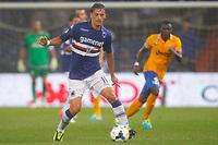 "Manolo Gabbiadini<br /> Genova 24/8/2013<br /> Stadio ""Luigi Ferraris"" <br /> Football Calcio 2013/2014 Serie A <br /> Sampdoria - Juventus <br /> Foto Marco Bertorello Insidefoto"