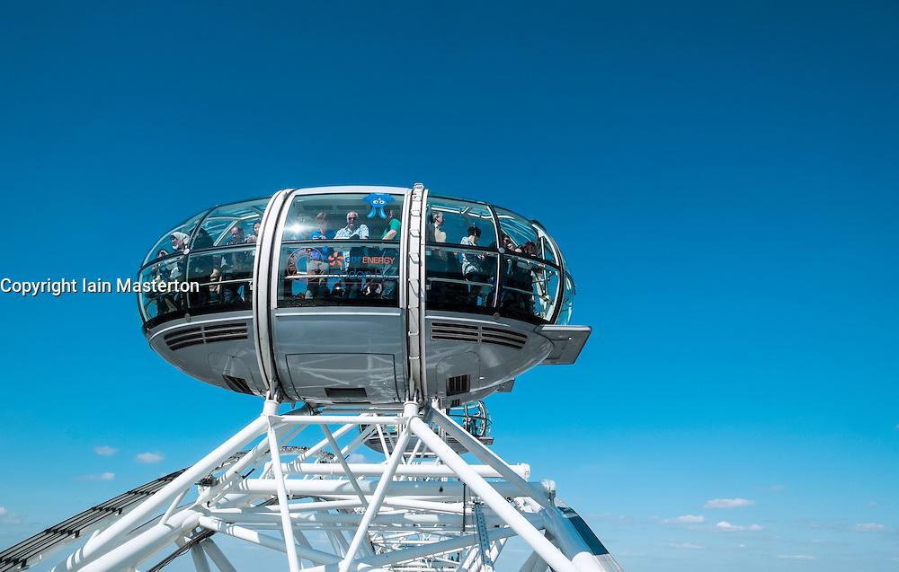 London Eye in London United Kingdom