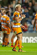 Tian Schoeman (#10) of Toyota Cheetahs during the Guinness Pro 14 2018_19 match between Edinburgh Rugby and Toyota Cheetahs at BT Murrayfield Stadium, Edinburgh, Scotland on 5 October 2018.