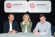 Virgin London Marathon press conference