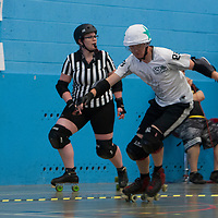 Chaos Engine take on the Checkerbroads at Salford University Sports Hall, Greater Manchester, 2018-07-14