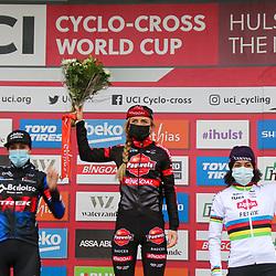 PERKPOLDER (NED) VELDRIJDEN<br /> Denise Betsema (NED) wins Worldcup race Hulst-Perkpolder. 2nd Lucinda Brand and 3th Ceylin Alvarado