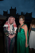 THE DUKE AND DUCHESS OF RUTLAND, Alice Manners 18th   birthday. Belvoir Castle, Grantham. 12 April 2013.