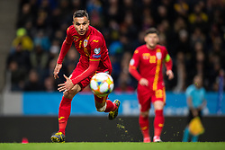 March 23, 2019 - Stockholm, SWEDEN - 190323 Cristian Manea of Romania in action during the UEFA Euro Qualifier football match between Sweden and Romania on March 23, 2019 in Stockholm..Photo: Joel Marklund / BILDBYRÃ…N / kod JM / 87914 (Credit Image: © Joel Marklund/Bildbyran via ZUMA Press)