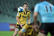 Beauden Barrett. Waratahs v Hurricanes. 2012 Super Rugby round 15 match. Allianz Stadium, Sydney Australia on Saturday 2 June 2012. Photo: Clay Cross / photosport.co.nz