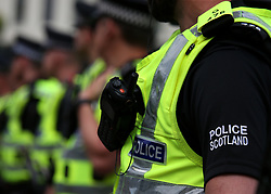 """File photo dated 04/06/16 of Police Scotland officers. A number of improvements must be made in order to address """"systemic problems"""" created following reform of Scotland's police and fire services, according to a committee of MSPs."""