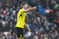 Burton Albion defender Tom Flanagan (2) during the EFL Sky Bet Championship match between Brighton and Hove Albion and Burton Albion at the American Express Community Stadium, Brighton and Hove, England on 11 February 2017. Photo by Bennett Dean.
