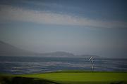 August 14-16, 2012 - Pebble Beach / Monterey Car Week. 18th green at Pebble Beach