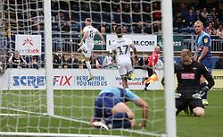 Josh Knight of Peterborough United celebrates scoring his goal - Mandatory by-line: Joe Dent/JMP - 05/10/2019 - FOOTBALL - Adam's Park - High Wycombe, England - Wycombe Wanderers v Peterborough United - Sky Bet League One