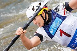 Funk Richarda (GER) competes in Semi-Finals during Day 3 of 2018 ECA Kayak - Canoe Slalom European Championships, on June 3rd, 2018 in Troja , Prague, Czech Republic. Photo by Grega Valancic / Sportida