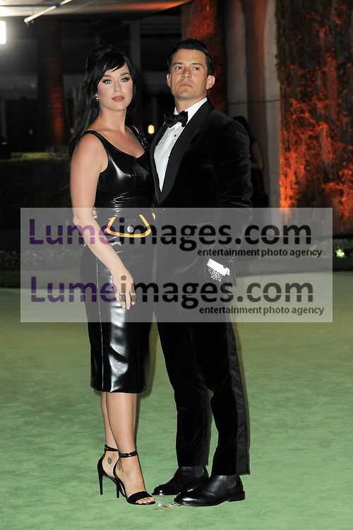 Katy Perry and Orlando Bloom at the Academy Museum of Motion Pictures Opening Gala held in Los Angeles, USA on September 25, 2021.