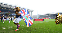 Football - 2016 / 2017 FA Cup - Fifth Round: Blackburn vs. Manchester United<br /> <br /> Blackburn Rovers mascots before the match at Ewood Park.<br /> <br /> COLORSPORT/LYNNE CAMERON