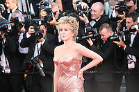 Jane Fonda at the gala screening of the film Moonrise Kingdom at the 65th Cannes Film Festival. Wednesday 16th May 2012, the red carpet at Palais Des Festivals in Cannes, France.