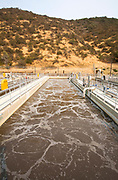 Aeration System, Hill Canyon Wastewater Treatment Plant, Camarillo, Ventura County, California, USA